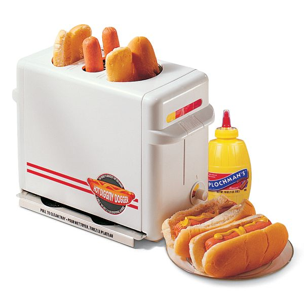 Hot Diggity Dogger - The Original Hot Dog & Bun Toaster in Retail Box ...