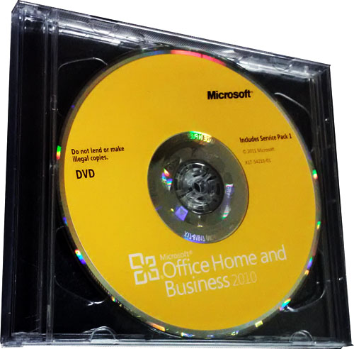 microsoft office home business 2010 edition dvd w. Black Bedroom Furniture Sets. Home Design Ideas