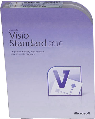 microsoft visio 2010 standard 32 64 bit retail box for. Black Bedroom Furniture Sets. Home Design Ideas